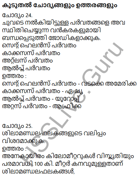 Kerala Syllabus 9th Standard Social Science Solutions Chapter 2 The Signature of Time in Malayalam 17