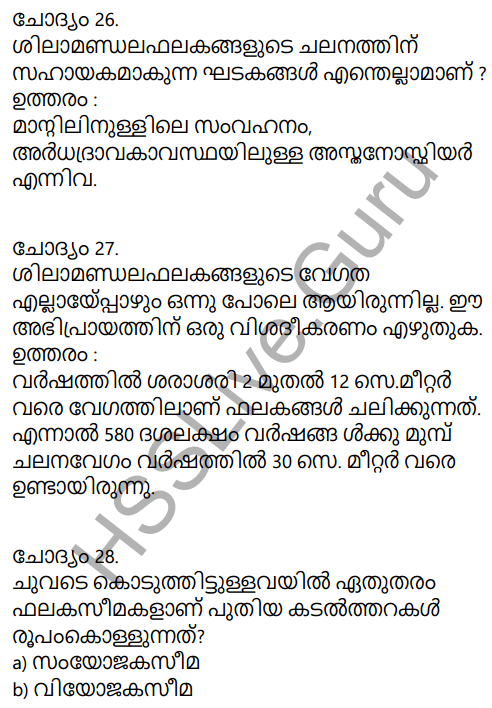 Kerala Syllabus 9th Standard Social Science Solutions Chapter 2 The Signature of Time in Malayalam 18