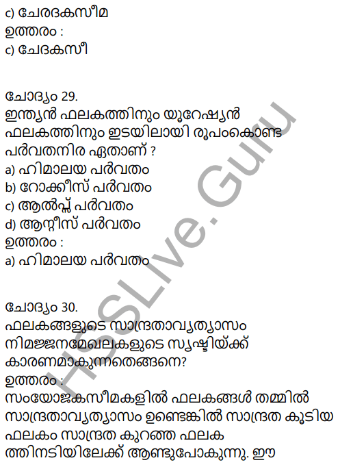 Kerala Syllabus 9th Standard Social Science Solutions Chapter 2 The Signature of Time in Malayalam 19