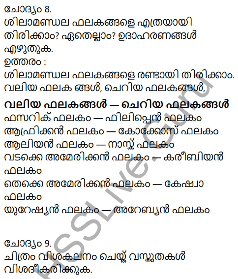 Kerala Syllabus 9th Standard Social Science Solutions Chapter 2 The Signature of Time in Malayalam 6