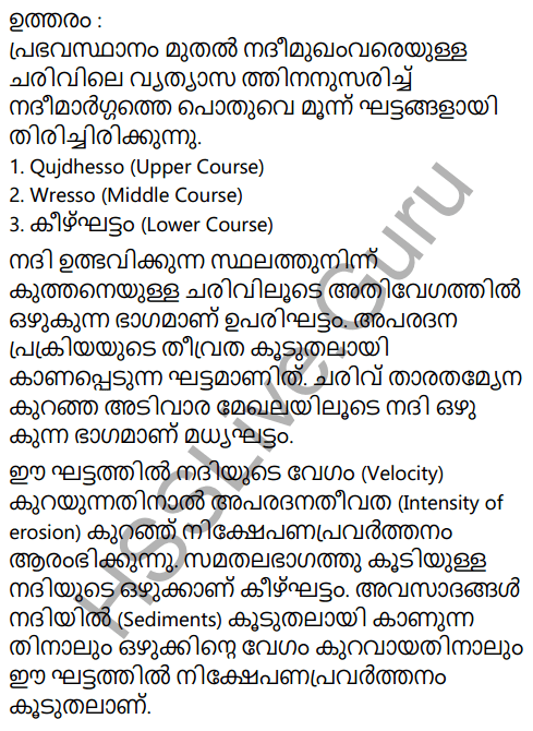 Kerala Syllabus 9th Standard Social Science Solutions Chapter 4 By the Hands of the Nature in Malayalam 10