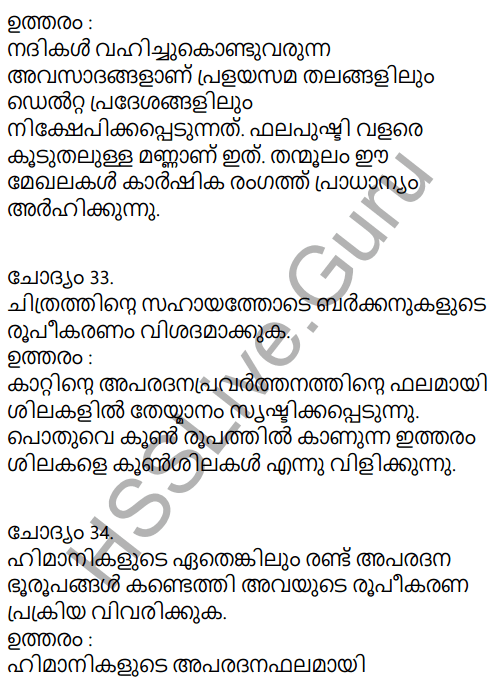 Kerala Syllabus 9th Standard Social Science Solutions Chapter 4 By the Hands of the Nature in Malayalam 25