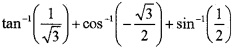 Plus Two Maths Inverse Trigonometric Functions 3 Mark Questions and Answers 5