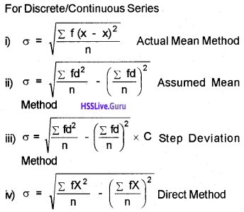 Plus One Economics Chapter Wise Questions and Answers Chapter 6 Measures of Dispersion img11