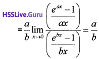 Plus One Maths Limits and Derivatives Three Mark Questions and Answers 21