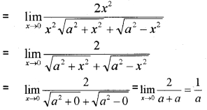 Plus One Maths Limits and Derivatives Three Mark Questions and Answers 3