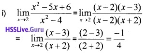 Plus One Maths Limits and Derivatives Three Mark Questions and Answers 31