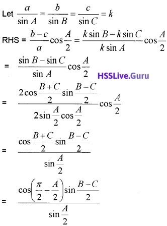 Plus One Maths Trigonometric Functions Three Mark Questions and Answers 19