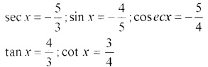 Plus One Maths Trigonometric Functions Three Mark Questions and Answers 31