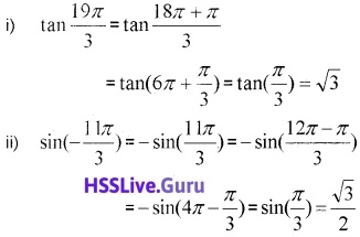 Plus One Maths Trigonometric Functions Three Mark Questions and Answers 37