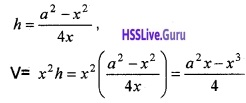 Plus Two Maths Application of Derivatives 3 Mark Questions and Answers 79