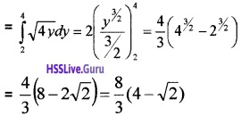 Plus Two Maths Application of Integrals 4 Mark Questions and Answers 7