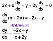 Plus Two Maths Continuity and Differentiability 3 Mark Questions and Answers 17