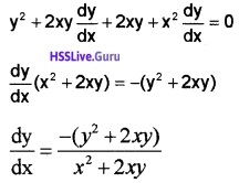 Plus Two Maths Continuity and Differentiability 3 Mark Questions and Answers 19