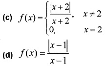 Plus Two Maths Continuity and Differentiability 3 Mark Questions and Answers 6