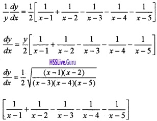 Plus Two Maths Continuity and Differentiability 4 Mark Questions and Answers 81