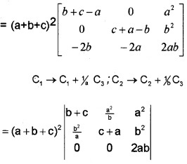 Plus Two Maths Determinants 3 Mark Questions and Answers 14