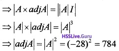 Plus Two Maths Determinants 3 Mark Questions and Answers 4