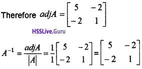 Plus Two Maths Determinants 4 Mark Questions and Answers 28