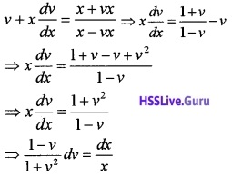 Plus Two Maths Differential Equations 3 Mark Questions and Answers 28