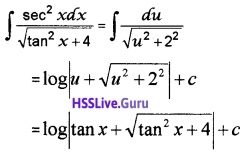 Plus Two Maths Integrals 3 Mark Questions and Answers 2