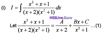 Plus Two Maths Integrals 3 Mark Questions and Answers 29
