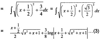 Plus Two Maths Integrals 3 Mark Questions and Answers 63