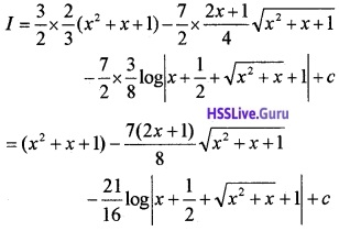 Plus Two Maths Integrals 3 Mark Questions and Answers 64