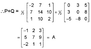 Plus Two Maths Matrices 3 Mark Questions and Answers 8