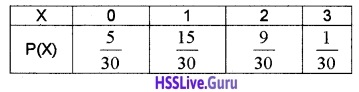 Plus Two Maths Probability 4 Mark Questions and Answers 25