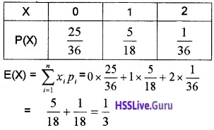 Plus Two Maths Probability 4 Mark Questions and Answers 27