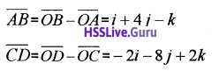 Plus Two Maths Vector Algebra 3 Mark Questions and Answers 32