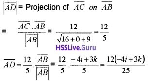 Plus Two Maths Vector Algebra 3 Mark Questions and Answers 49