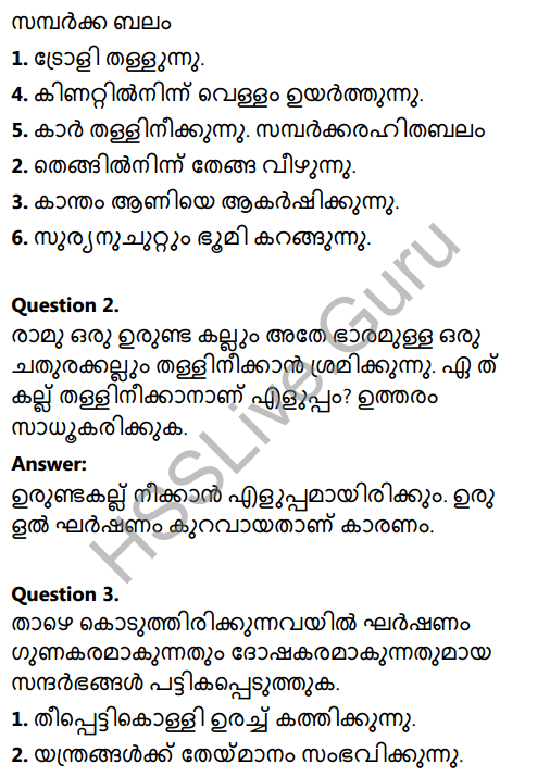 Kerala Syllabus 8th Standard Basic Science Solutions Chapter 10 Force in Malayalam 6