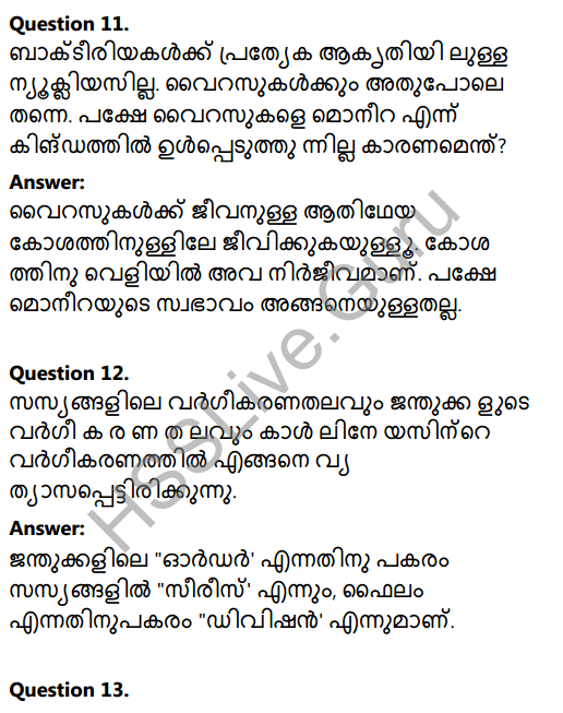 Kerala Syllabus 8th Standard Basic Science Solutions Chapter 12 Why Classification in Malayalam 16