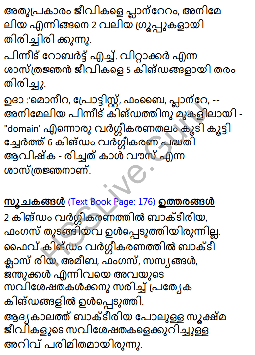 Kerala Syllabus 8th Standard Basic Science Solutions Chapter 12 Why Classification in Malayalam 6