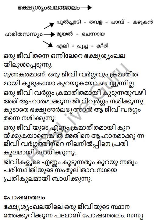 Kerala Syllabus 8th Standard Basic Science Solutions Chapter 13 Diversity for Sustenance in Malayalam 3