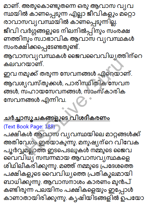 Kerala Syllabus 8th Standard Basic Science Solutions Chapter 13 Diversity for Sustenance in Malayalam 7