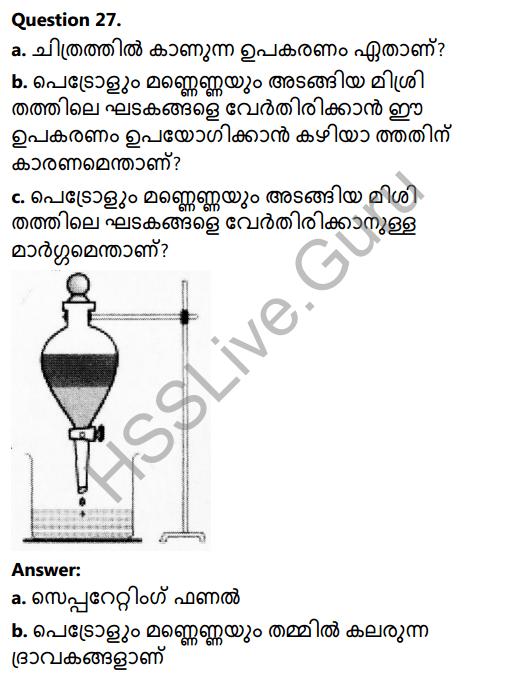 Kerala Syllabus 8th Standard Basic Science Solutions Chapter 4 Properties of Matter in Malayalam 25