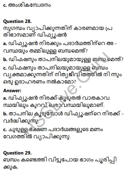 Kerala Syllabus 8th Standard Basic Science Solutions Chapter 4 Properties of Matter in Malayalam 26