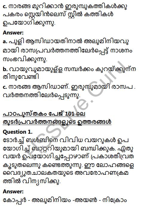 Kerala Syllabus 8th Standard Basic Science Solutions Chapter 7 Metals in Malayalam 6