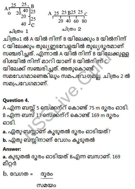 Kerala Syllabus 8th Standard Basic Science Solutions Chapter 9 Motion in Malayalam 2