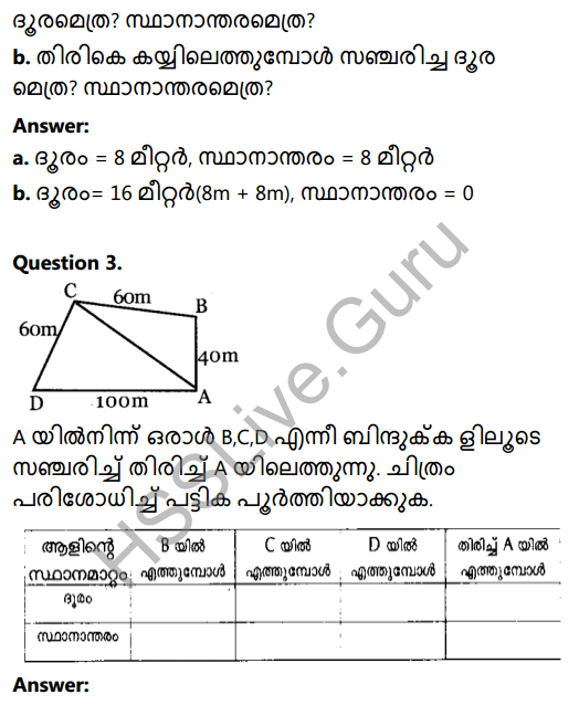 Kerala Syllabus 8th Standard Basic Science Solutions Chapter 9 Motion in Malayalam 9