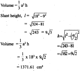 Kerala Syllabus 10th Standard Maths Solutions Chapter 8 Solids - 16