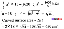 Kerala Syllabus 10th Standard Maths Solutions Chapter 8 Solids - 49