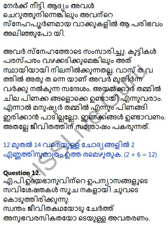 Kerala SSLC Malayalam Model Question Paper 2 (Adisthana Padavali) 11