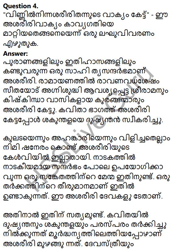 Plus Two Malayalam Textbook Answers Unit 1 Chapter 1 Kannadi Kanmolavum 14
