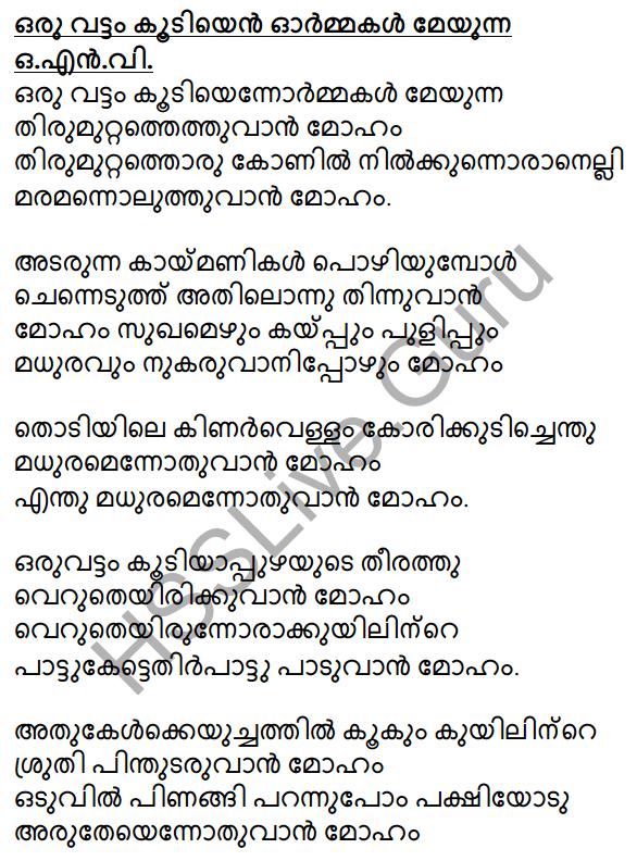 Plus Two Malayalam Textbook Answers Unit 1 Chapter 3 Kirathavritham 63