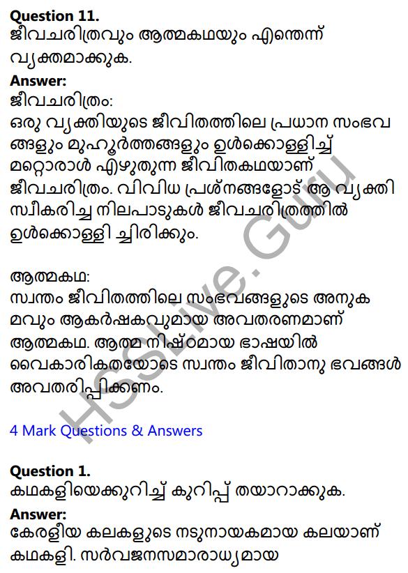 Plus Two Malayalam Textbook Answers Unit 2 Chapter 3 Padathinte Pathathil 6
