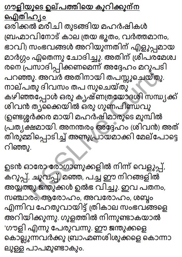 Plus Two Malayalam Textbook Answers Unit 3 Chapter 2 Gauli Janmam 6